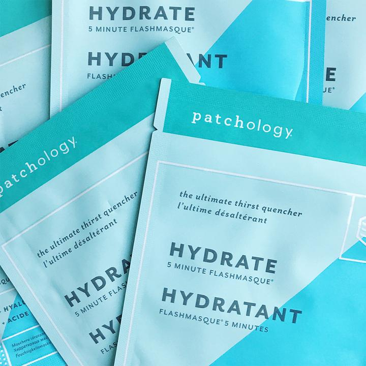 OhMart Patchology Flashmaque Hydrate Hydratant 4