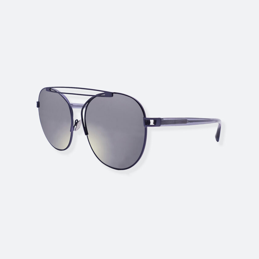 OhMart People by People – Aviator Sunglasses ( Monster - Silver ) 3
