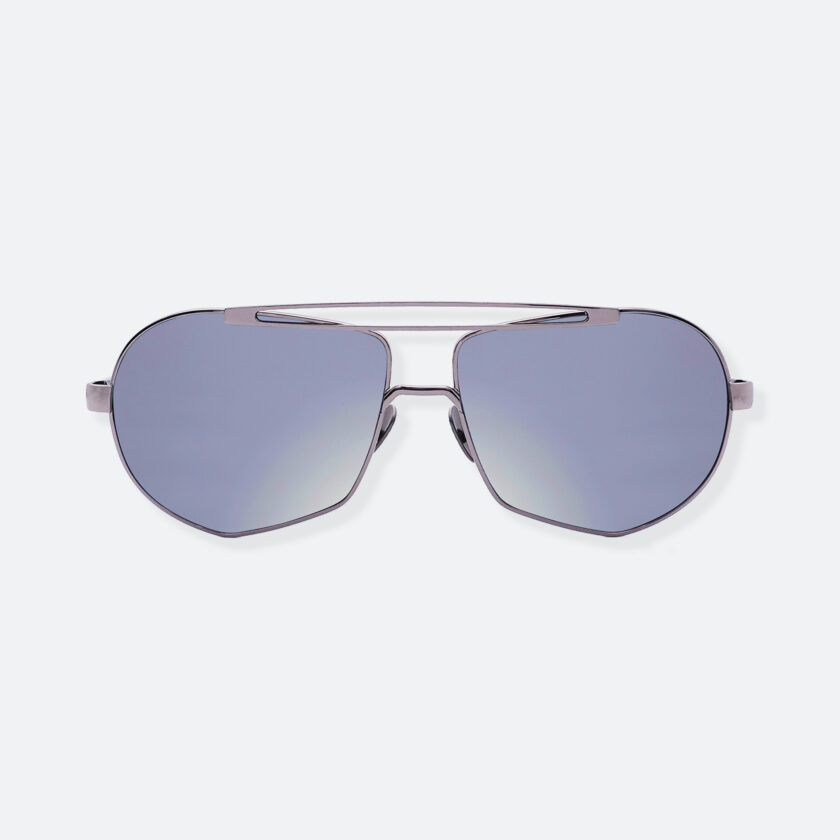 OhMart People By People - Aviator Sunglasses With Colored Lens ( Transform A - Blue ) 1