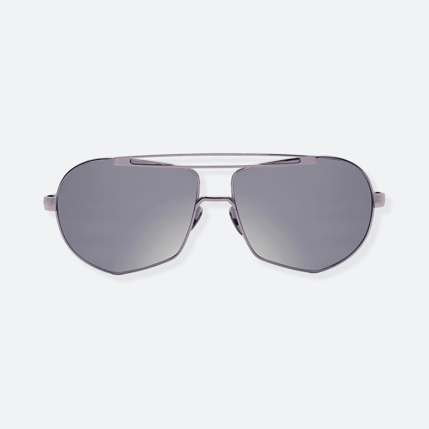 OhMart People By People - Aviator Sunglasses With Colored Lens ( Transform A - Silver ) 1