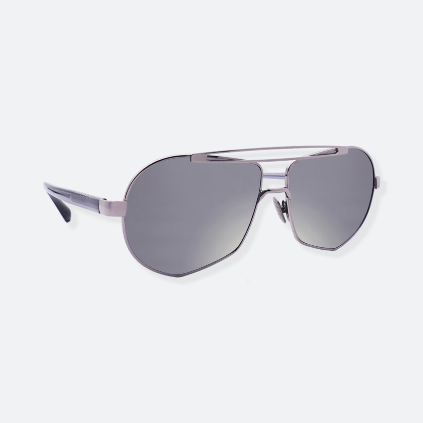 OhMart People By People - Aviator Sunglasses With Colored Lens ( Transform A - Silver ) 2