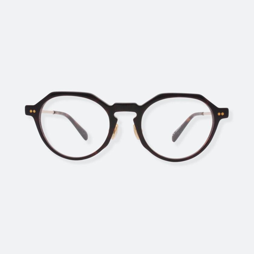 OhMart People By People - Wayfarer Round Acetate / Metal Optical Glasses ( EPO001 - Brown ) 1