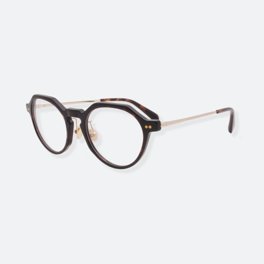 OhMart People By People - Wayfarer Round Acetate / Metal Optical Glasses ( EPO001 - Brown ) 2