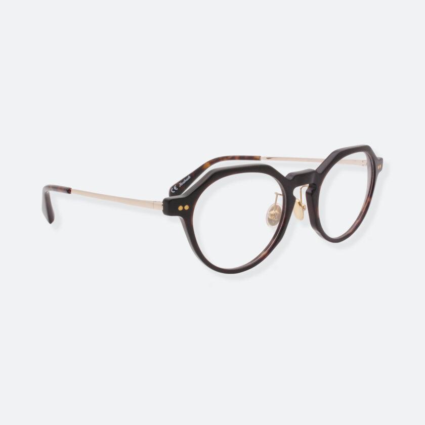 OhMart People By People - Wayfarer Round Acetate / Metal Optical Glasses ( EPO001 - Brown ) 3