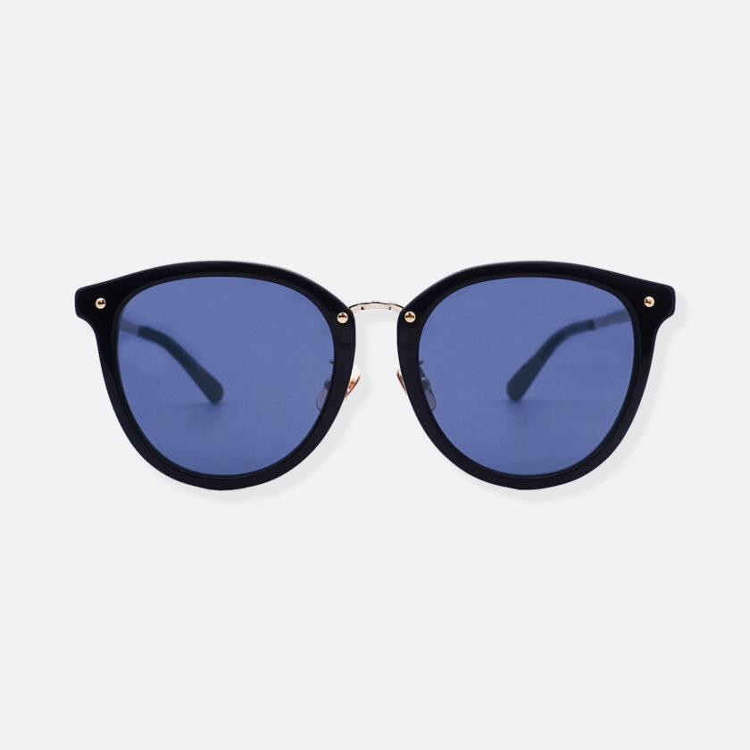 OhMart People By People - Round Acetate & Metal Sunglasses ( Non Disappear - Navy ) 1