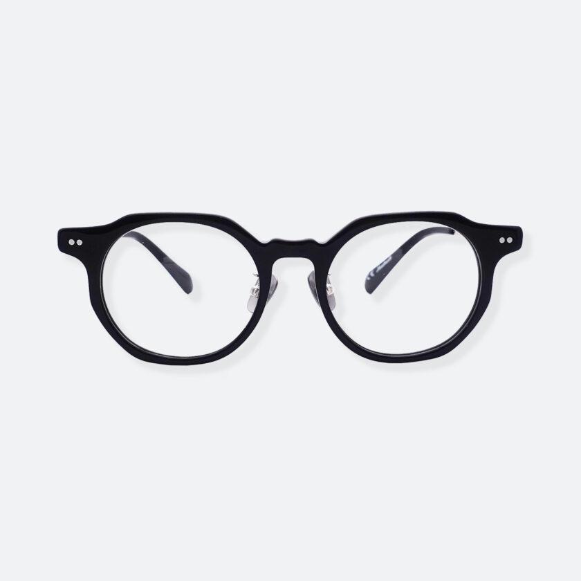 OhMart People By People - Wayfarer Acetate / Metal Optical Glasses ( Line Art - Silver ) 1