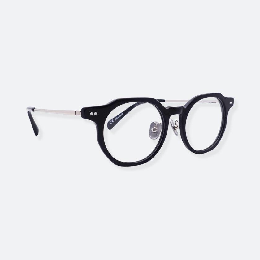 OhMart People By People - Wayfarer Acetate / Metal Optical Glasses ( Line Art - Silver ) 3
