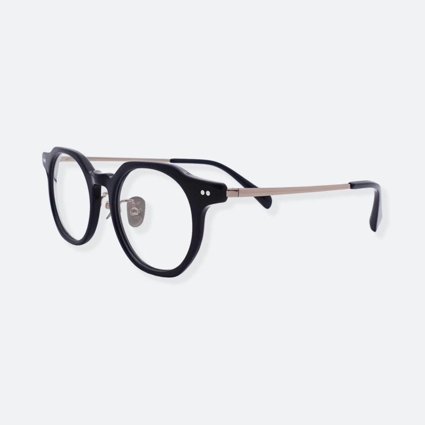 OhMart People By People - Wayfarer Acetate / Metal Optical Glasses ( Line Art - Gun Metal ) 2
