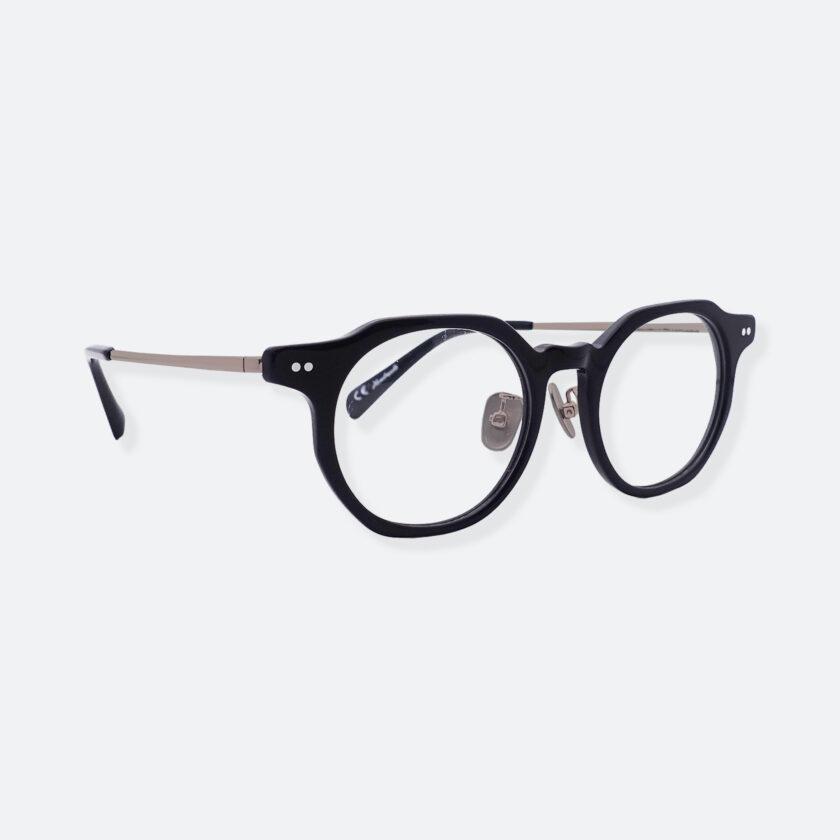 OhMart People By People - Wayfarer Acetate / Metal Optical Glasses ( Line Art - Gun Metal ) 3