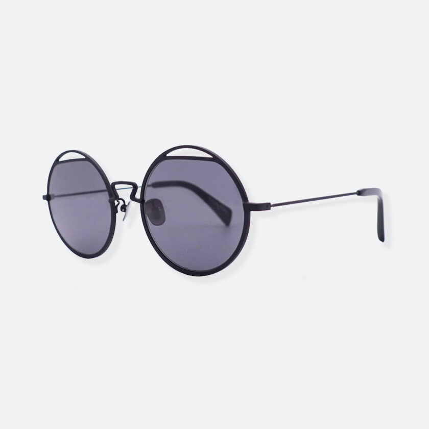 OhMart People By People - Round Shape Sunglasses ( Spaceman - Black ) 2