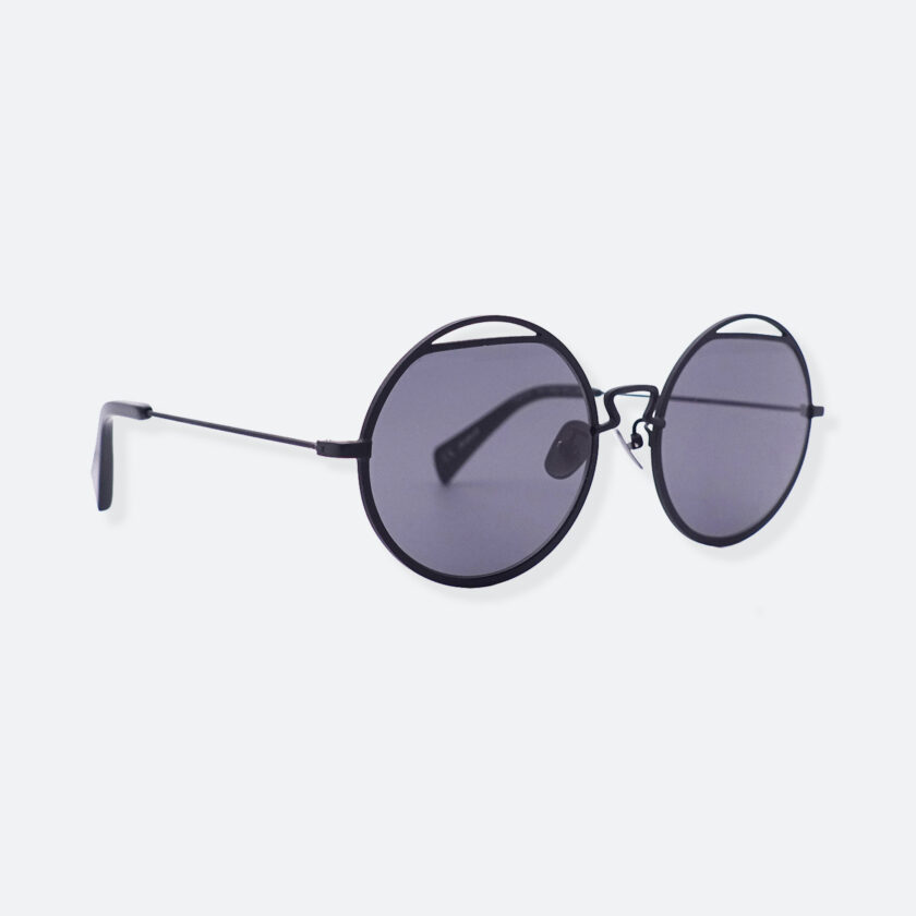 OhMart People By People - Round Shape Sunglasses ( Spaceman - Black ) 3
