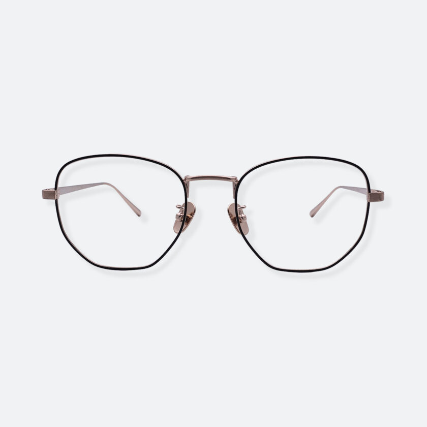 OhMart People By People - Round Metal Frame Optical Glasses ( SQ Literature - Gold ) 1