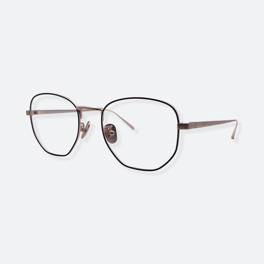 OhMart People By People - Round Metal Frame Optical Glasses ( SQ Literature - Gold ) 2