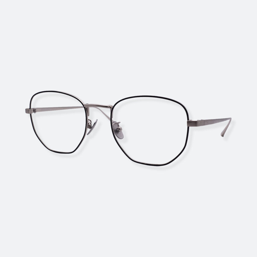 OhMart People By People - Round Metal Frame Optical Glasses ( SQ Literature - Silver ) 2