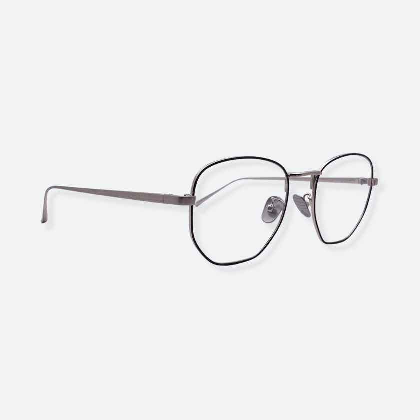 OhMart People By People - Round Metal Frame Optical Glasses ( SQ Literature - Silver ) 3