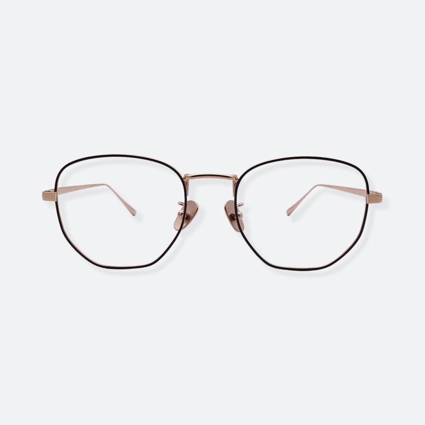 OhMart People By People - Round Metal Frame Optical Glasses ( SQ Literature - K-Gold ) 1