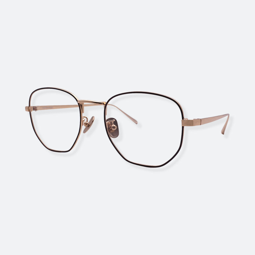 OhMart People By People - Round Metal Frame Optical Glasses ( SQ Literature - K-Gold ) 2