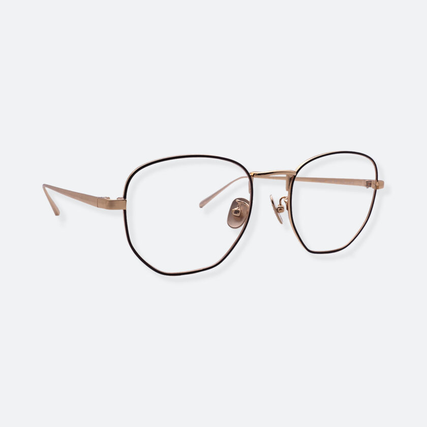 OhMart People By People - Round Metal Frame Optical Glasses ( SQ Literature - K-Gold ) 3