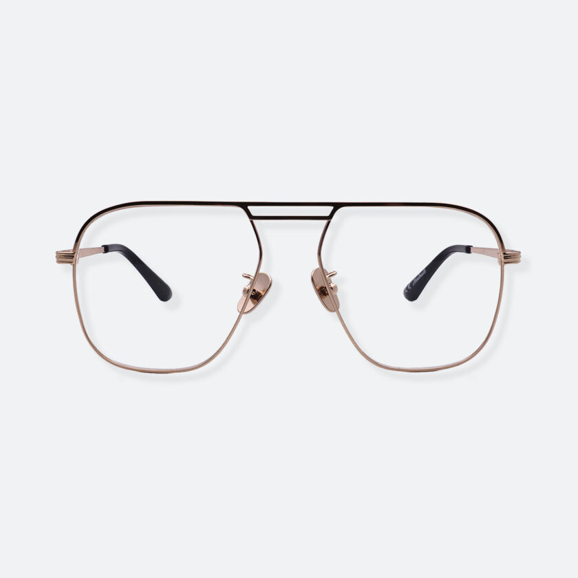 OhMart People By People - Aviator Metal Optical Glasses ( Look Back - Gold ) 1