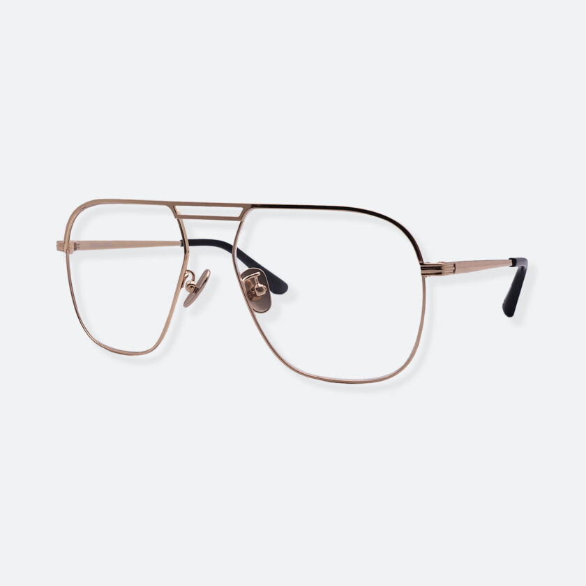 OhMart People By People - Aviator Metal Optical Glasses ( Look Back - Gold ) 2