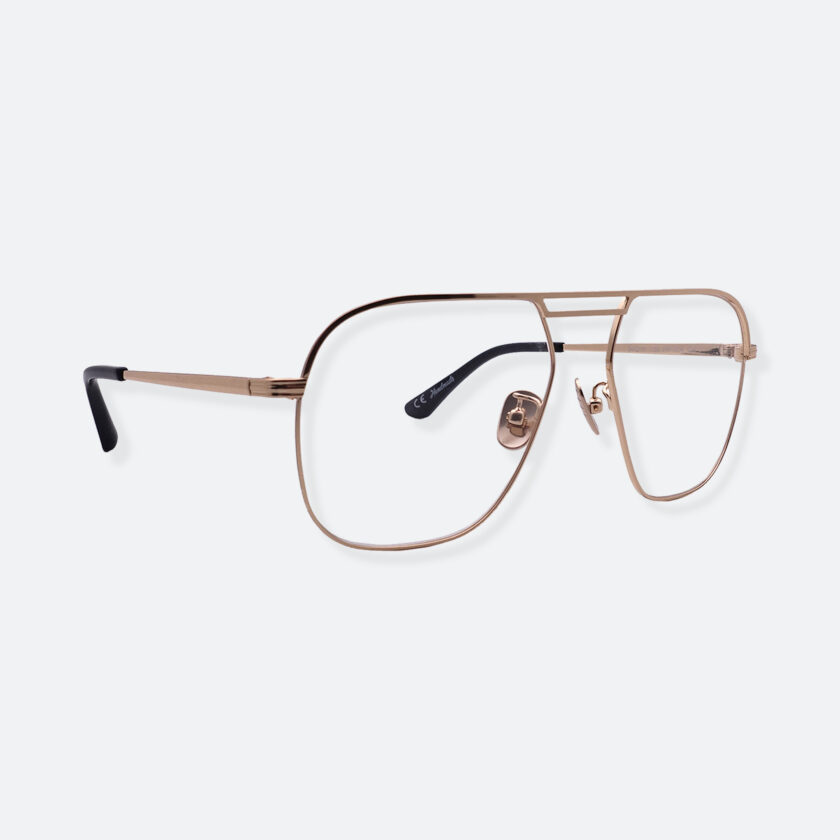 OhMart People By People - Aviator Metal Optical Glasses ( Look Back - Gold ) 3