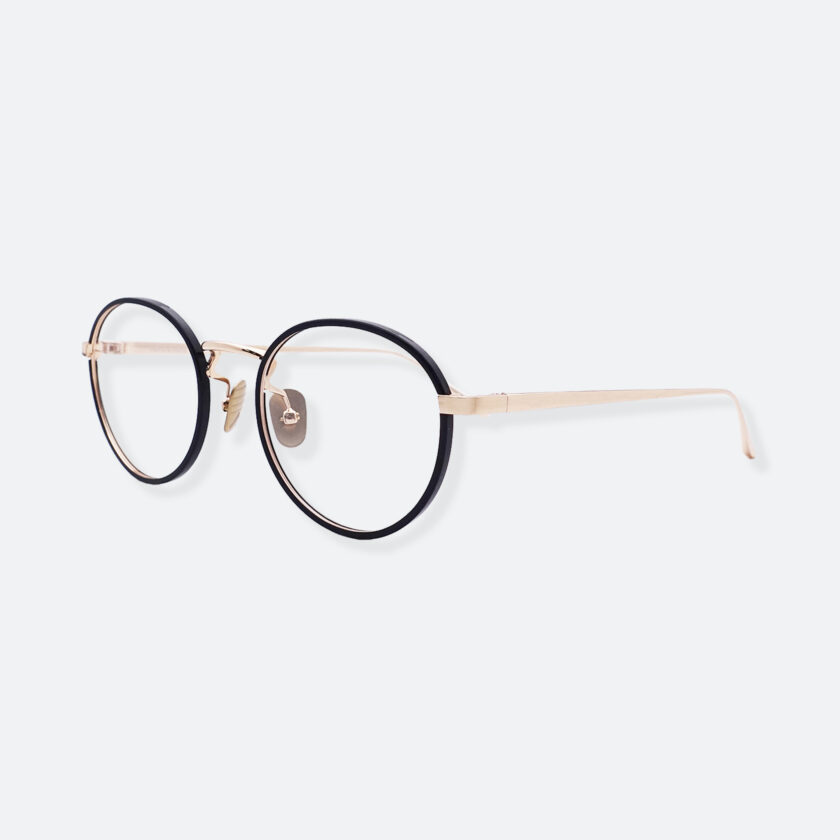 OhMart People By People - Round Acetate / Metal Optical Glasses ( O Literature - Black ) 2