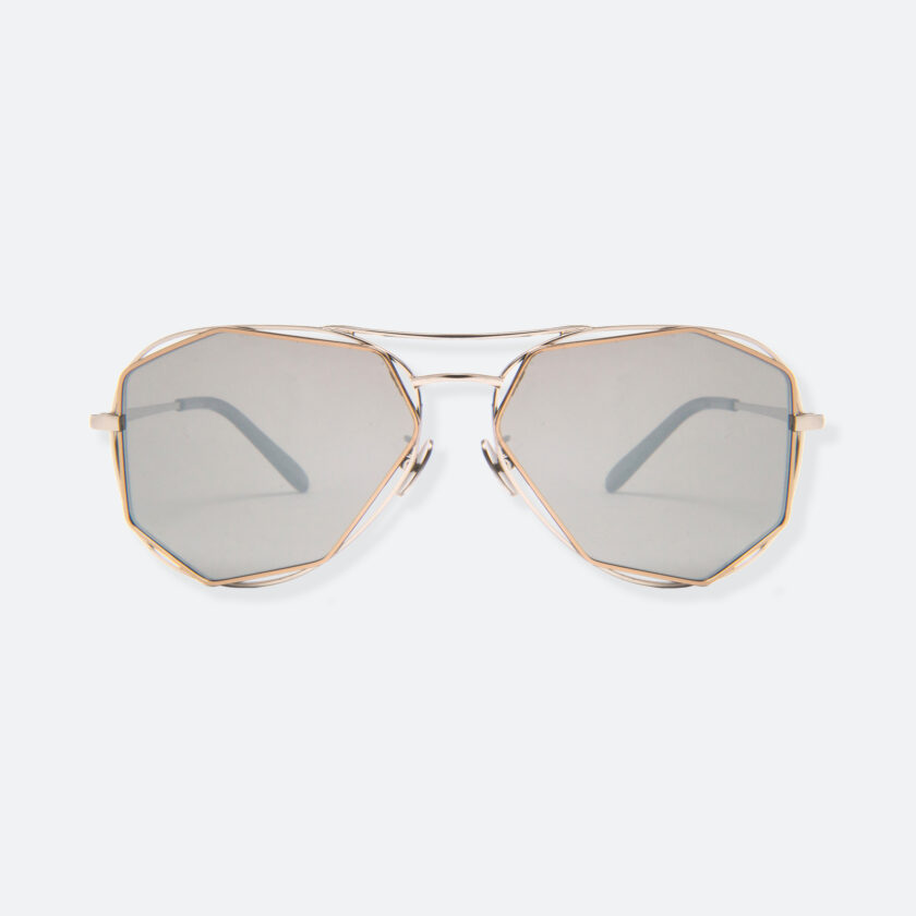 OhMart People by People - Aviator Sunglasses With Non-Polarized Lens ( Aviator - Gold Frame ) 1
