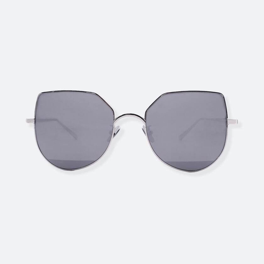 OhMart People By People - Aviator Sunglasses ( Ex-Bird - Silver ) 1