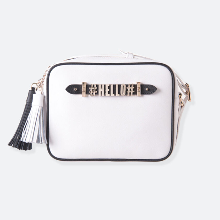 OhMart People by People - Leather Small Shoulder Bag ( B008 - White ) 1