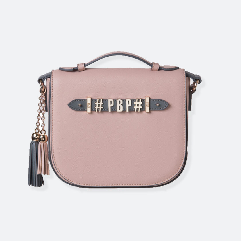 OhMart People By People - Leather Luna Bag ( Pink ) 1