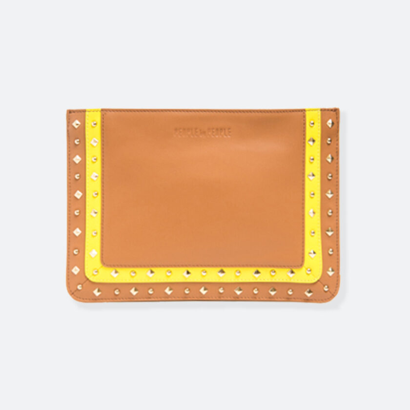 OhMart People by People – Leather Pouch ( B017 - Brown ) 1