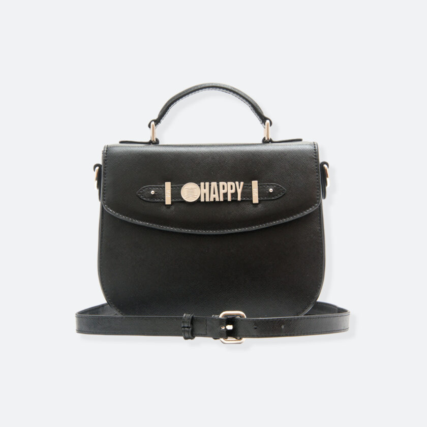 OhMart People By People - Leather Bailey Bag ( Black ) 1