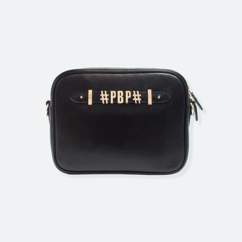 OhMart People By People - Leather Small Shoulder Bag ( B037 - Black ) 3