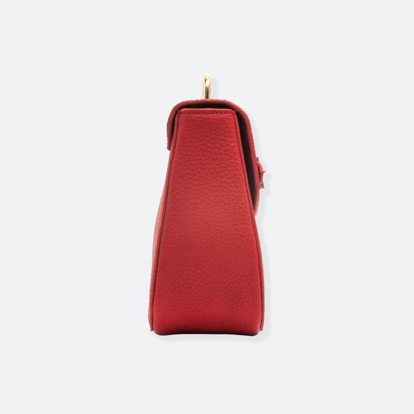 OhMart People By People - Leather Saddle Bag ( B040 - Red ) 2