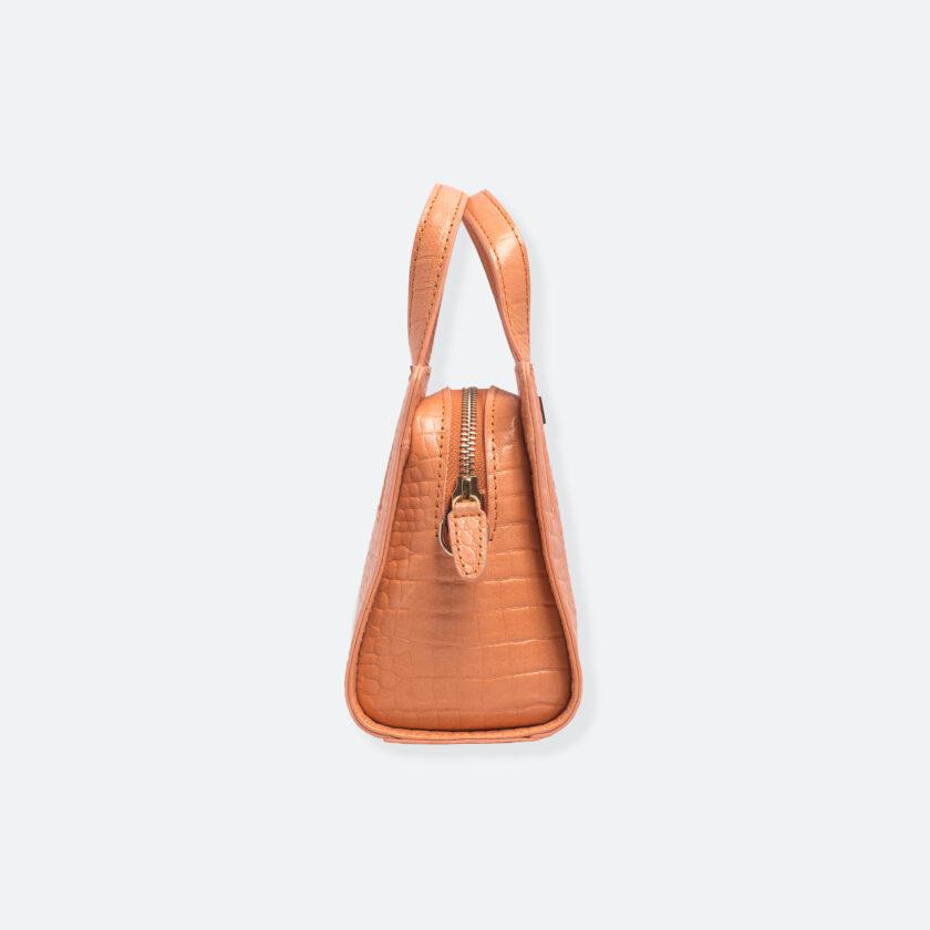 OhMart People By People - The Leather Micro Mini ( B042 - Orange ) 2