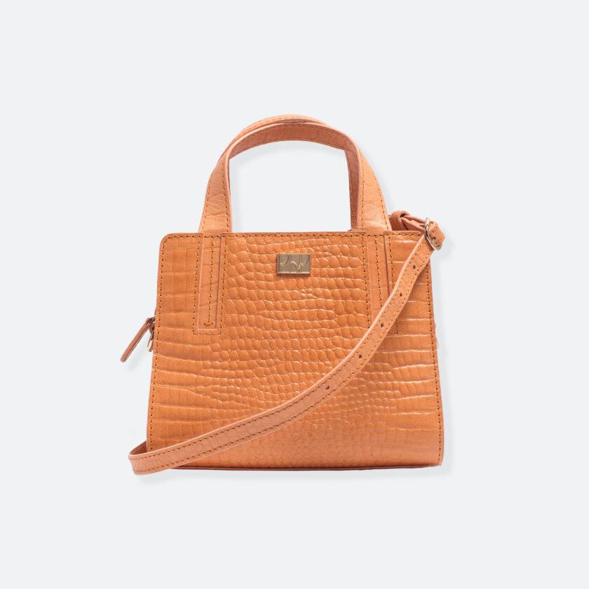 OhMart People By People - The Leather Micro Mini ( B042 - Orange ) 1