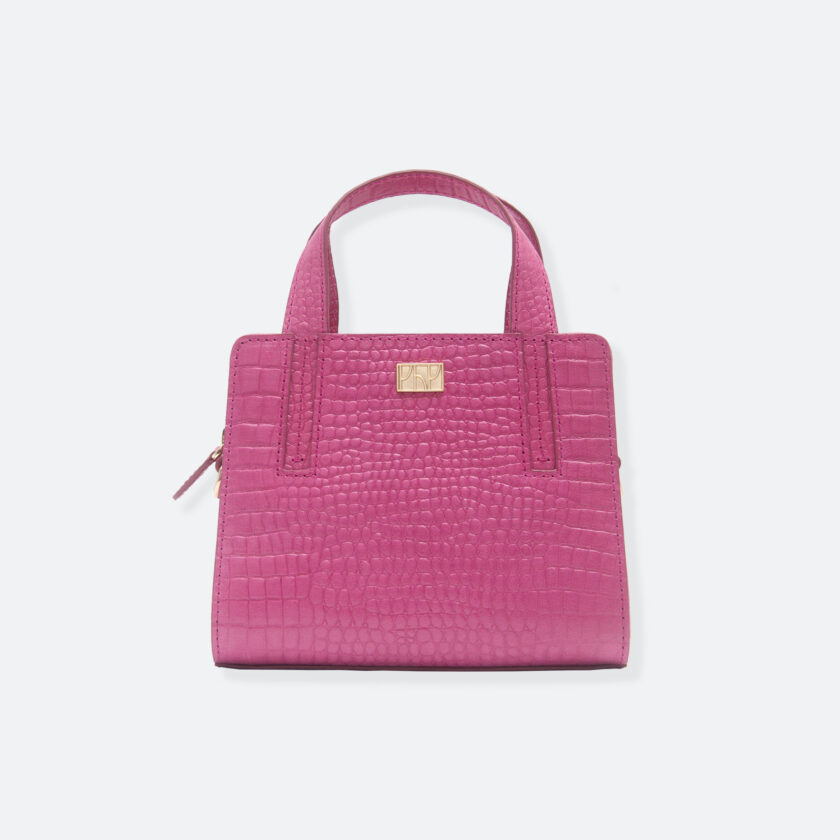 OhMart People By People - The Leather Micro Mini ( B042 - Pink ) 3