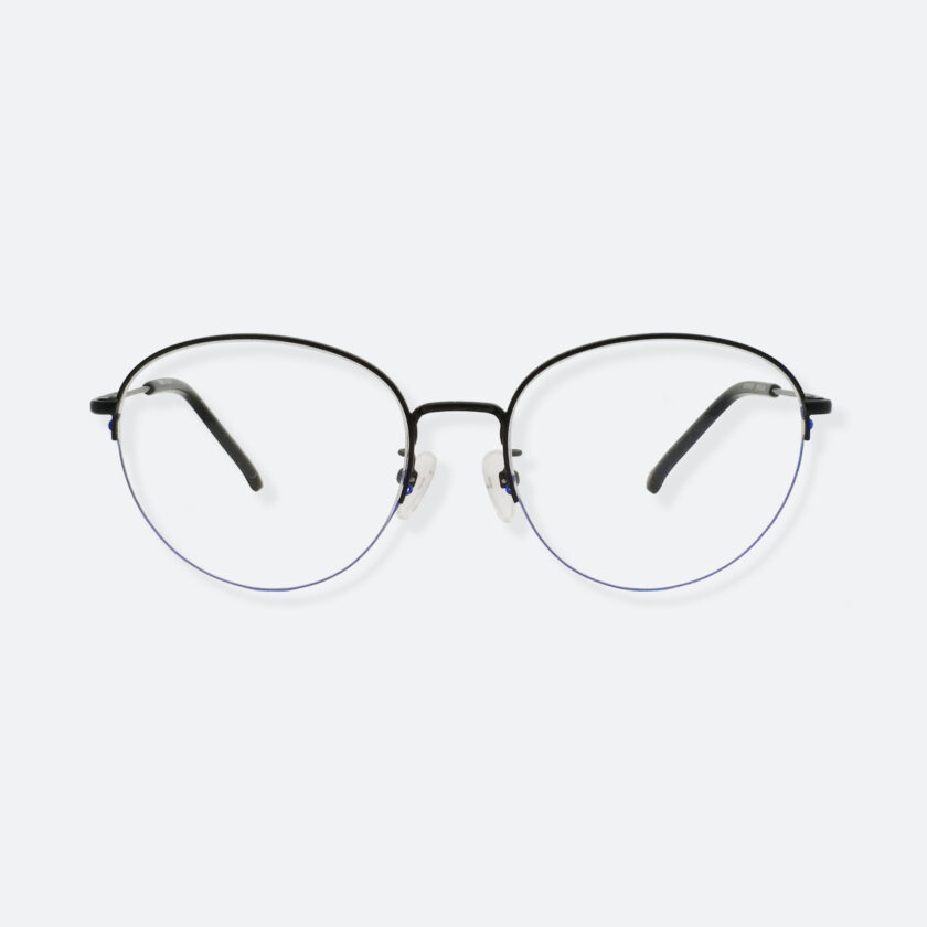 OhMart Textura - Semi-Rimless Framed Optical Glasses ( TMM016 - Blue ) 1