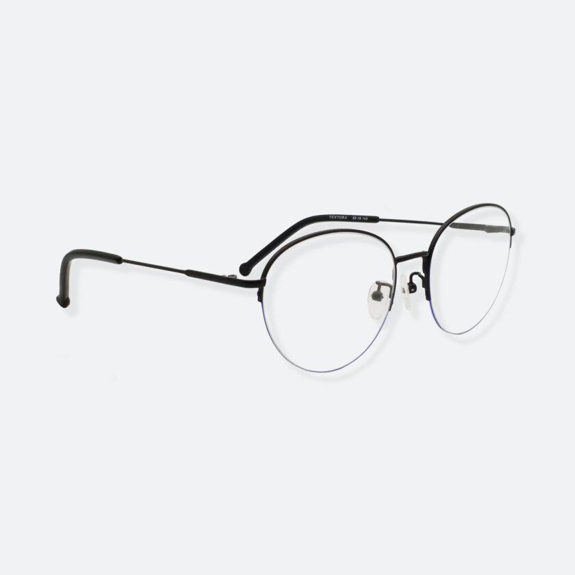 OhMart Textura - Semi-Rimless Framed Optical Glasses ( TMM016 - Blue ) 3