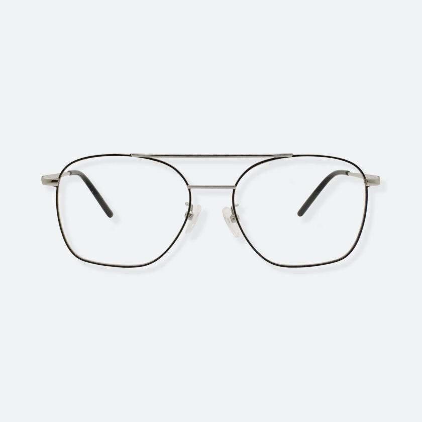 OhMart Textura - Metal Brow Bar Optical Glasses ( TMM017 - Silver ) 1