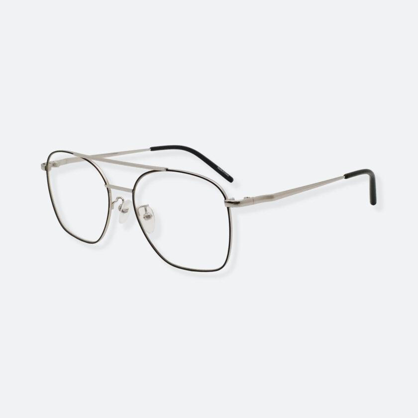OhMart Textura - Metal Brow Bar Optical Glasses ( TMM017 - Silver ) 2