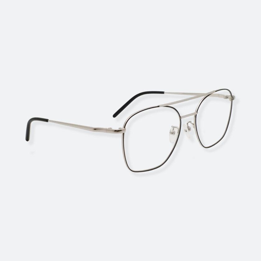 OhMart Textura - Metal Brow Bar Optical Glasses ( TMM017 - Silver ) 3