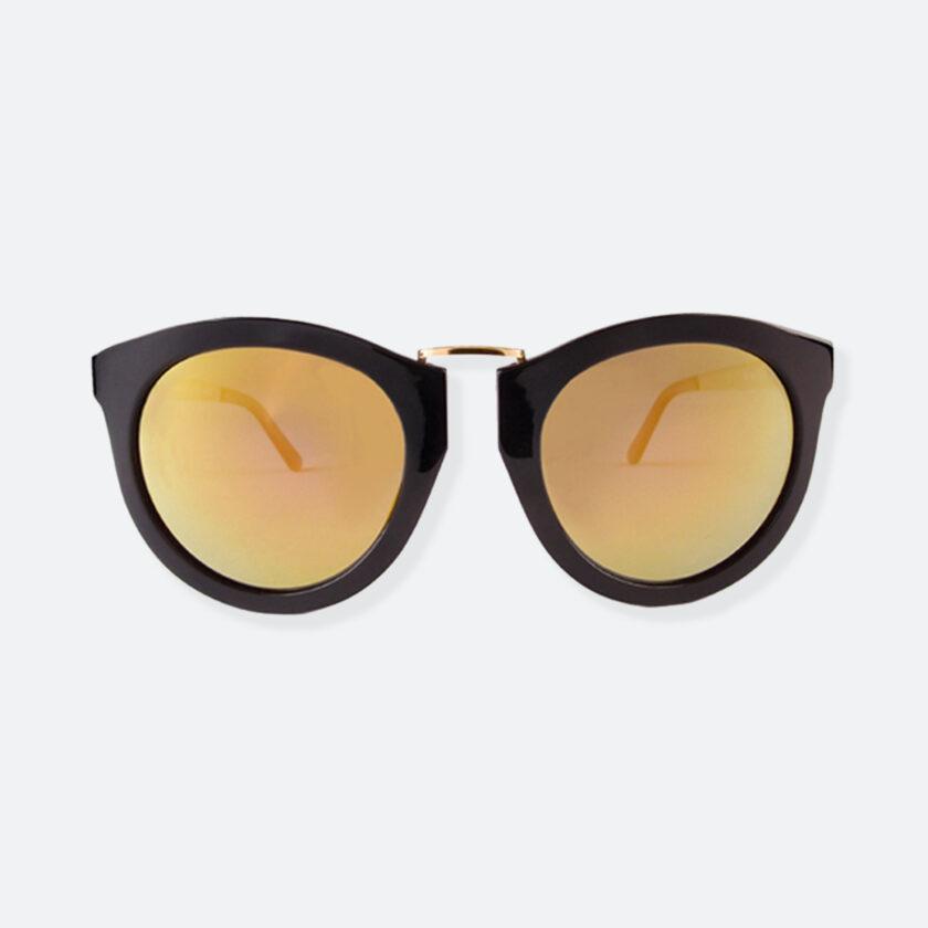 OhMart People By People - Wayfarer Bold Frame Sunglasses ( DBD003 - Black / Yellow ) 1