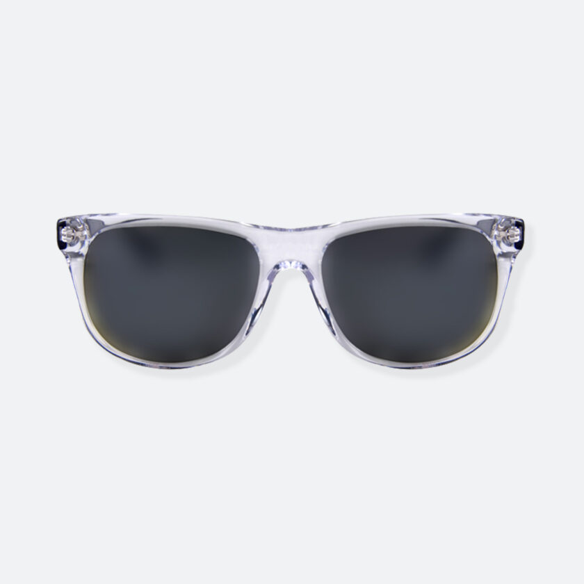 OhMart People By People - Round Acetate Sunglasses ( DBD004A - Transparent Black ) 1