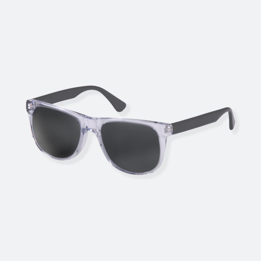 OhMart People By People - Round Acetate Sunglasses ( DBD004A - Transparent Black ) 3