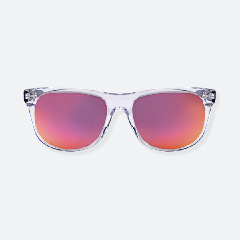 OhMart People By People - Round Acetate Sunglasses ( DBD004A - Transparent Pink ) 1