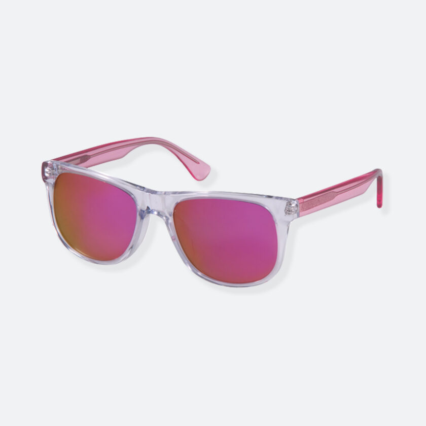 OhMart People By People - Round Acetate Sunglasses ( DBD004A - Transparent Pink ) 3