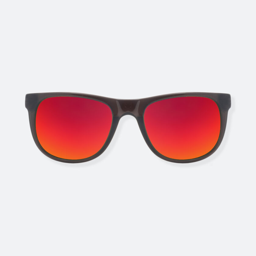 OhMart People By People - Round Acetate Sunglasses ( DBD004A - Black / Red ) 1