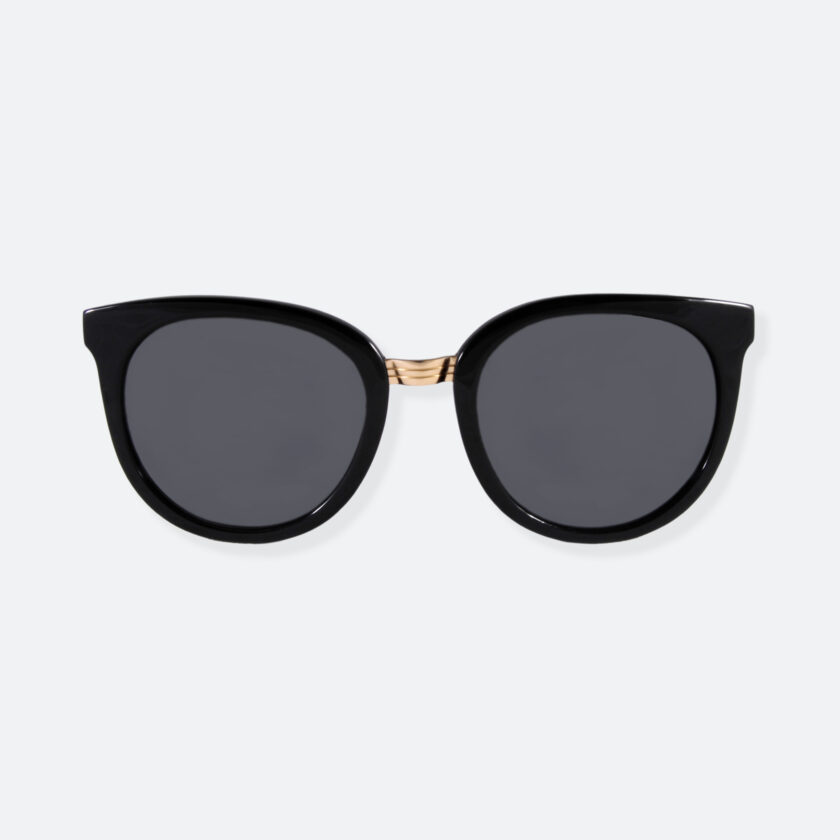 OhMart People By People - Round Sunglasses ( DBD007 - Black ) 1