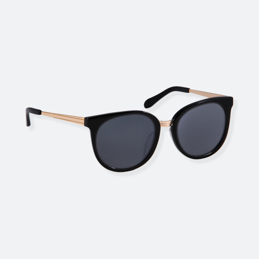 OhMart People By People - Round Sunglasses ( DBD007 - Black ) 2